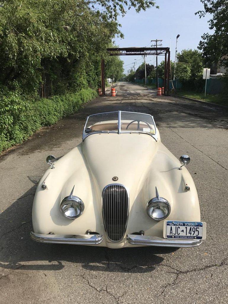 medium resolution of 1953 jaguar xk 120m roadster