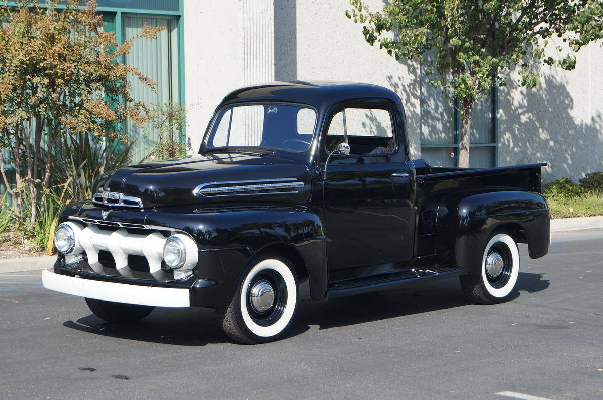hight resolution of 1951 ford f1 pickup truck