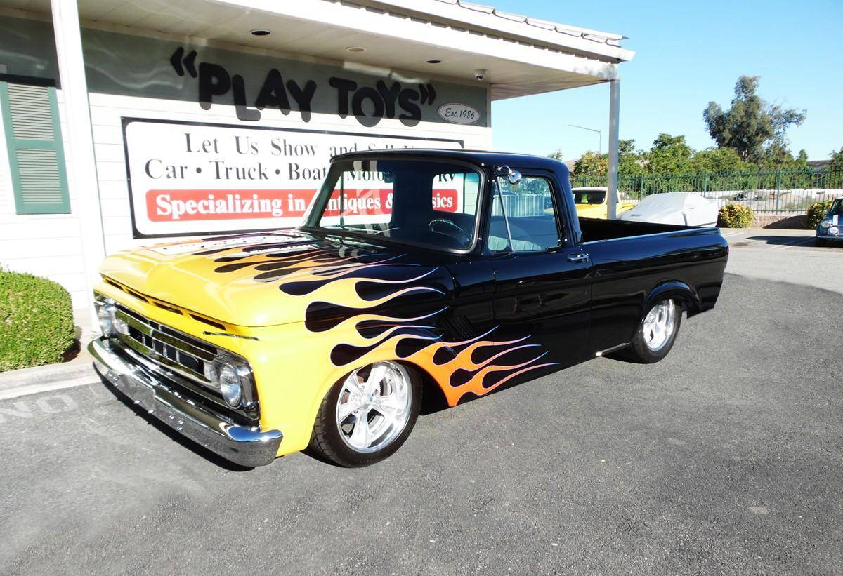 small resolution of 1961 ford f100 shortbed