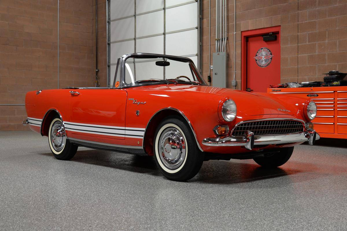 hight resolution of 1967 sunbeam tiger mkii roadster