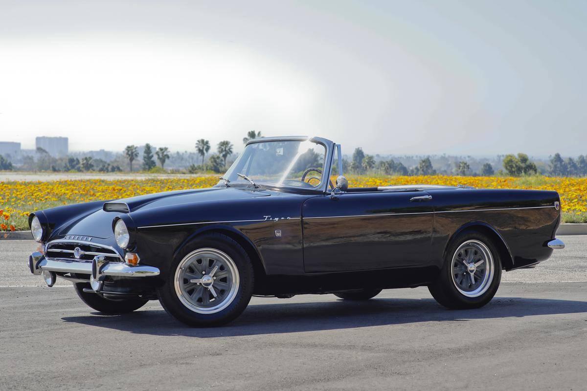 medium resolution of 1964 sunbeam tiger gt convertible