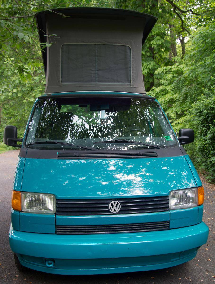 1993 volkswagen eurovan mv westfalia weekender 5 spd man 2 beds sleeps 4 [ 909 x 1200 Pixel ]