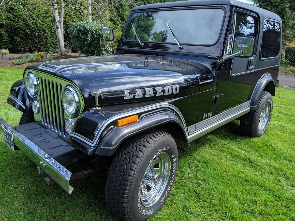 1984 jeep cj7 laredo [ 1200 x 900 Pixel ]