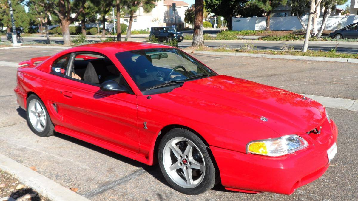 medium resolution of 1995 ford mustang cobra gr40 griggs racing w 410ci windsor