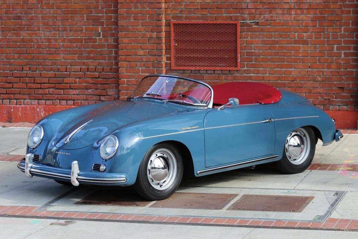 hight resolution of 1956 porsche 356a speedster