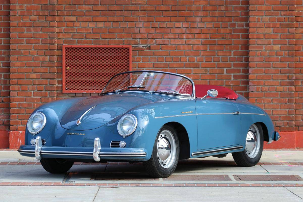 medium resolution of 1956 porsche 356a speedster