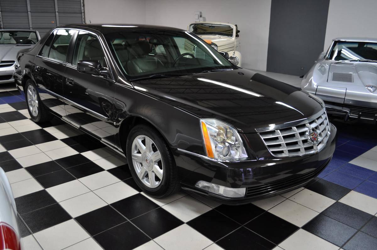 hight resolution of 2007 cadillac dts sedan