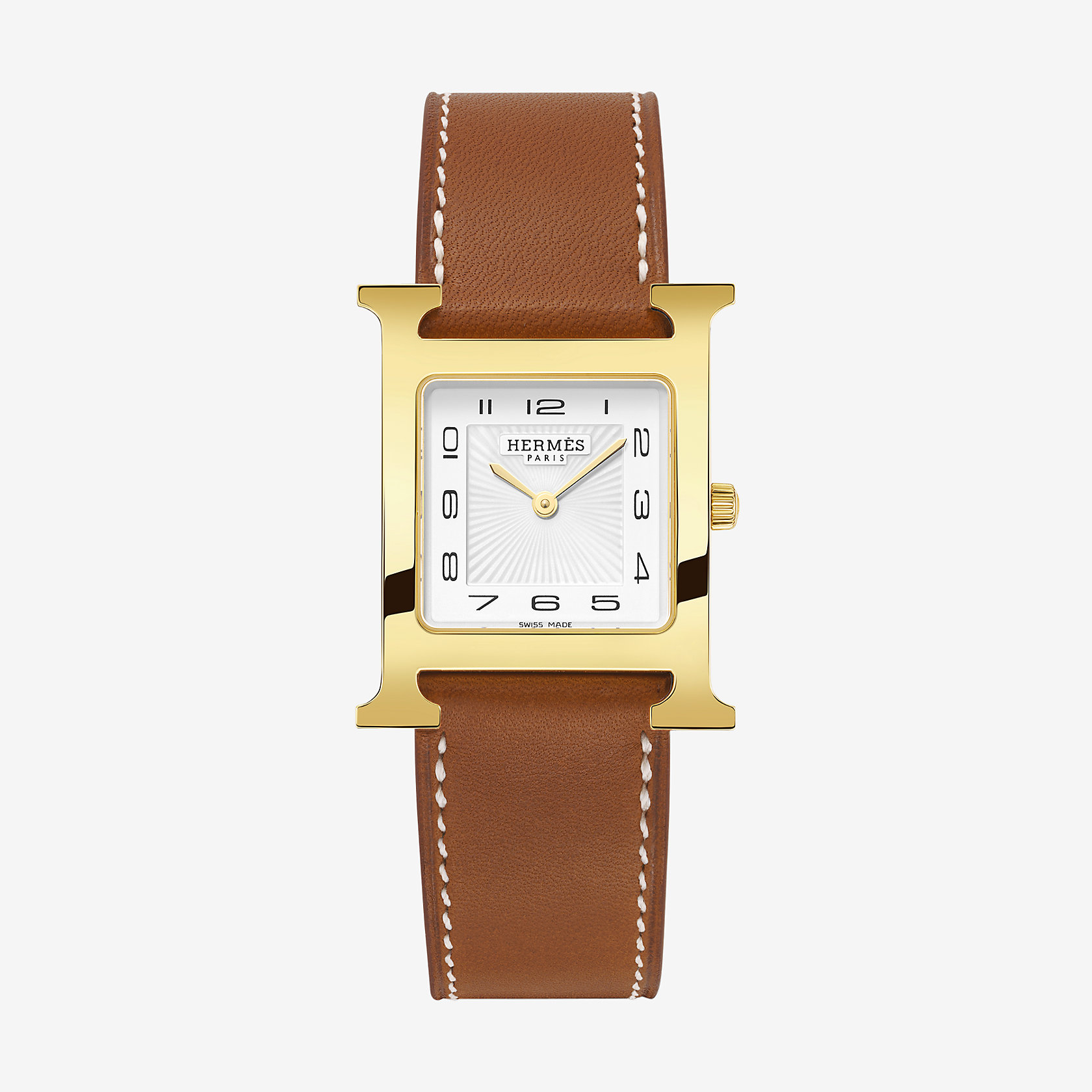 Heure H watch medium model 26 x 26 mm  Herms