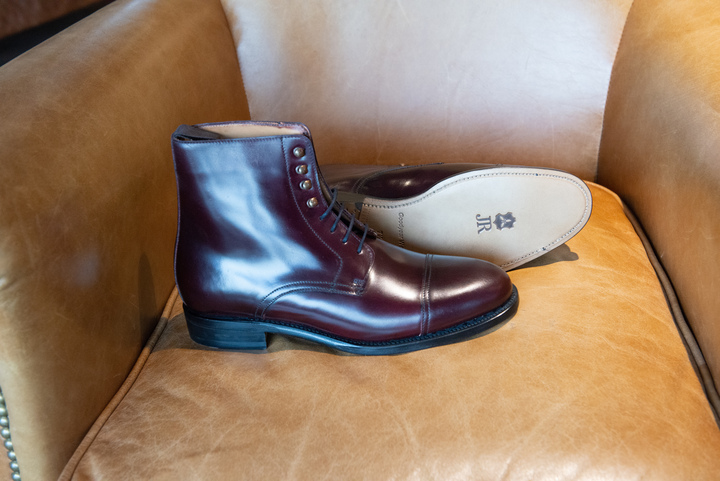 Cromer boots in Corovan leather