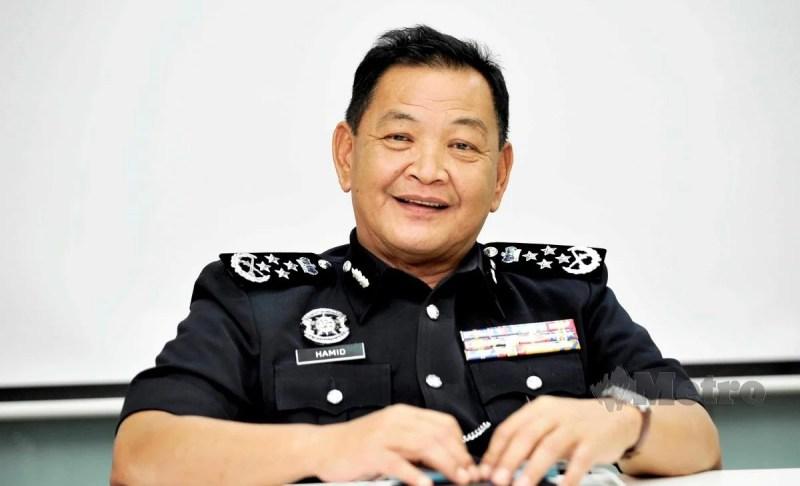 Tan Sri Abdul Hamid Bador yakin pelapis yang ada bakal meneruskan usaha membersihkan nama pasukan dan mengembalikan integriti tinggi polis. FOTO AIZUDDIN SAAD