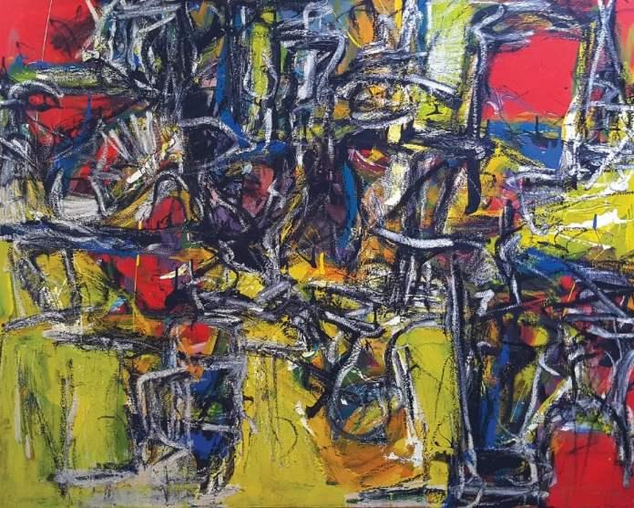 ANTARA karya abstrak dihasilkan Suzlee.