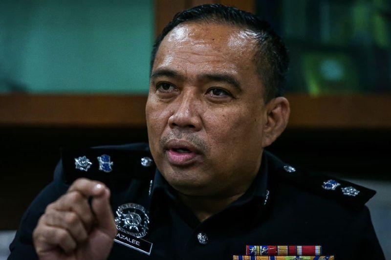 KETUA Polis Daerah Kulim, Superitendan Sazalee Adam. FOTO Luqman Hakim Zubir