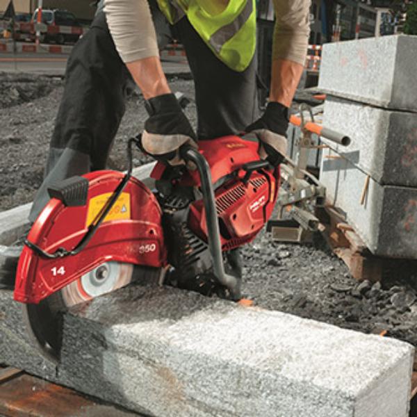 pro gas concrete saw 14 rental