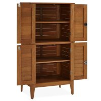 Montego Bay Four Door Multi-Purpose Storage Cabinet ...