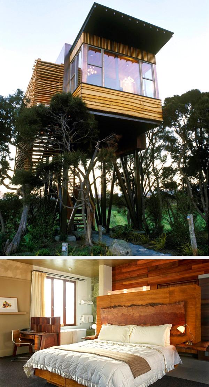 домик хапуку и дома на деревьях