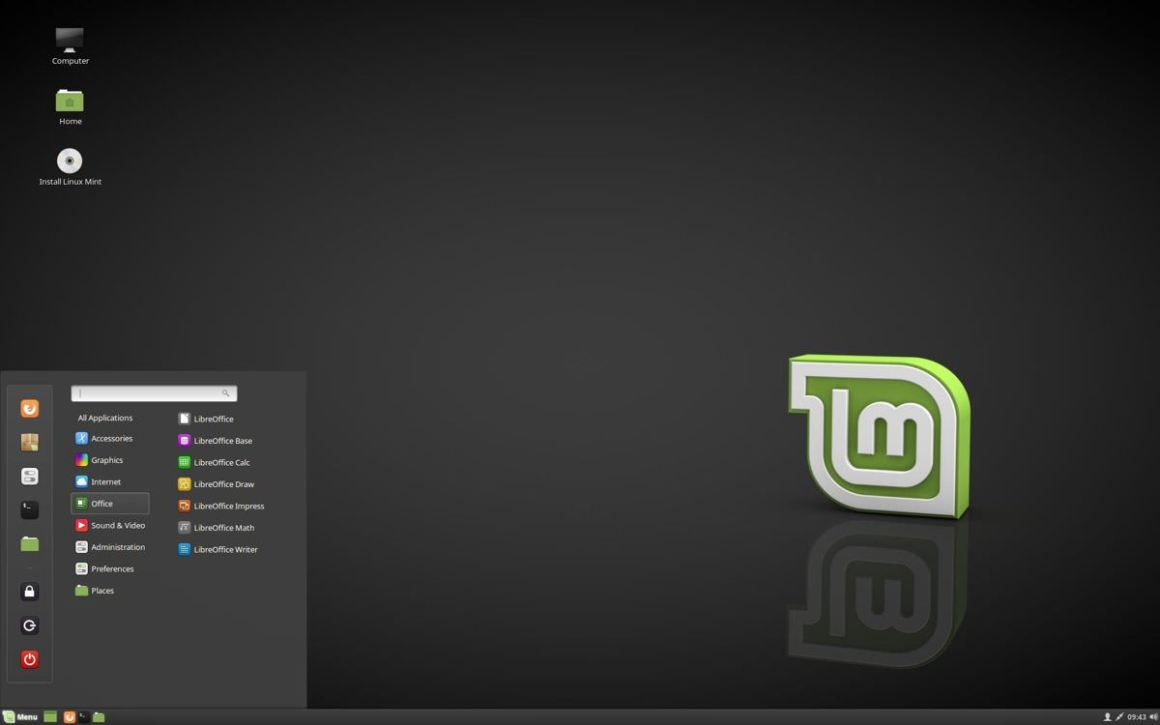 Linux Mint Cinnamon Edition