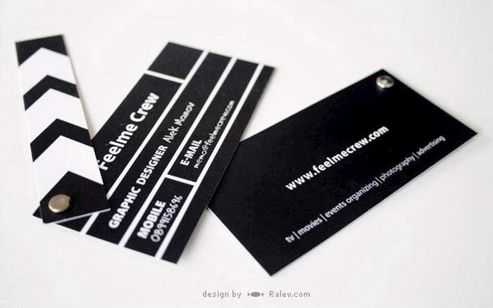 Clapper Board Business Card
