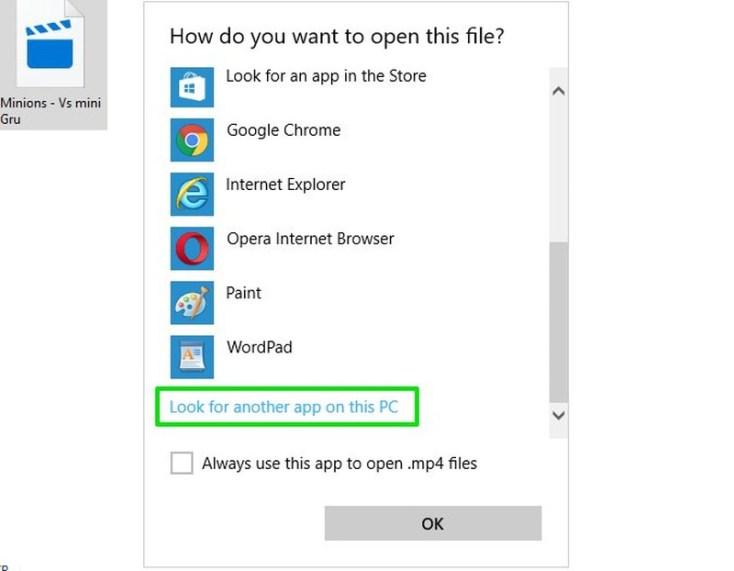 How to set new default apps in windows 10 izon9 look for another app fandeluxe Images