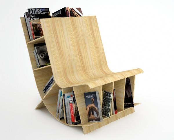 Книжное кресло