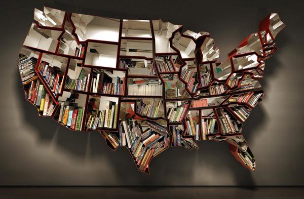 Книжная полка США