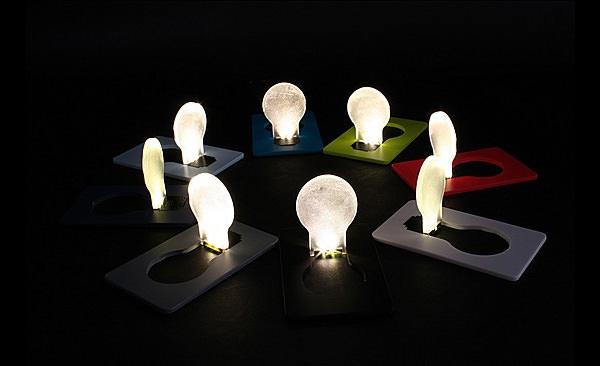 Портативная карманная светодиодная лампа для карточек