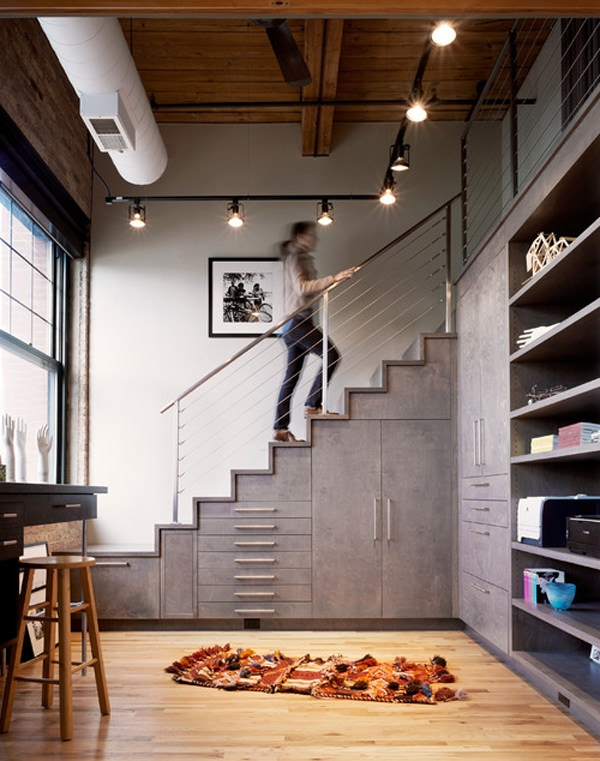20 Creative Ideas To Use The Space Under Your Stairs Hongkiat | Space Under Staircase Design | Indoor | Clever | Innovative | Wooden | Understairs