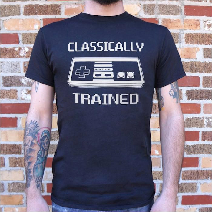 classically-trained-geek-t-shirt