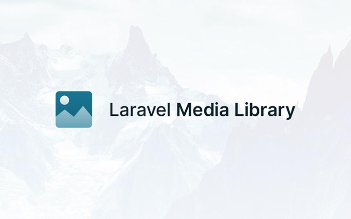 Медиа-библиотека Laravel