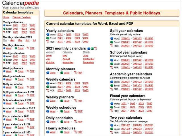Calendarpedia