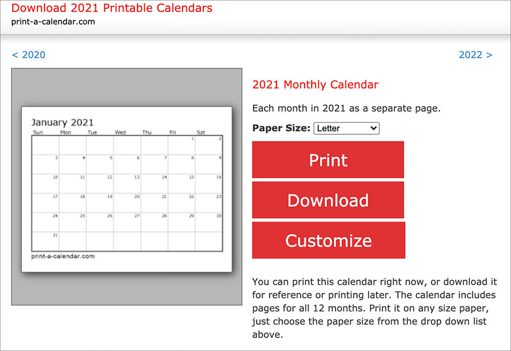 It is useful for quick referencing on dates, write down quick notes founder of lifehack read full profile sometimes it is handy to have a calendar for you. 10 Sites To Download Free Printable Calendar Templates Hongkiat