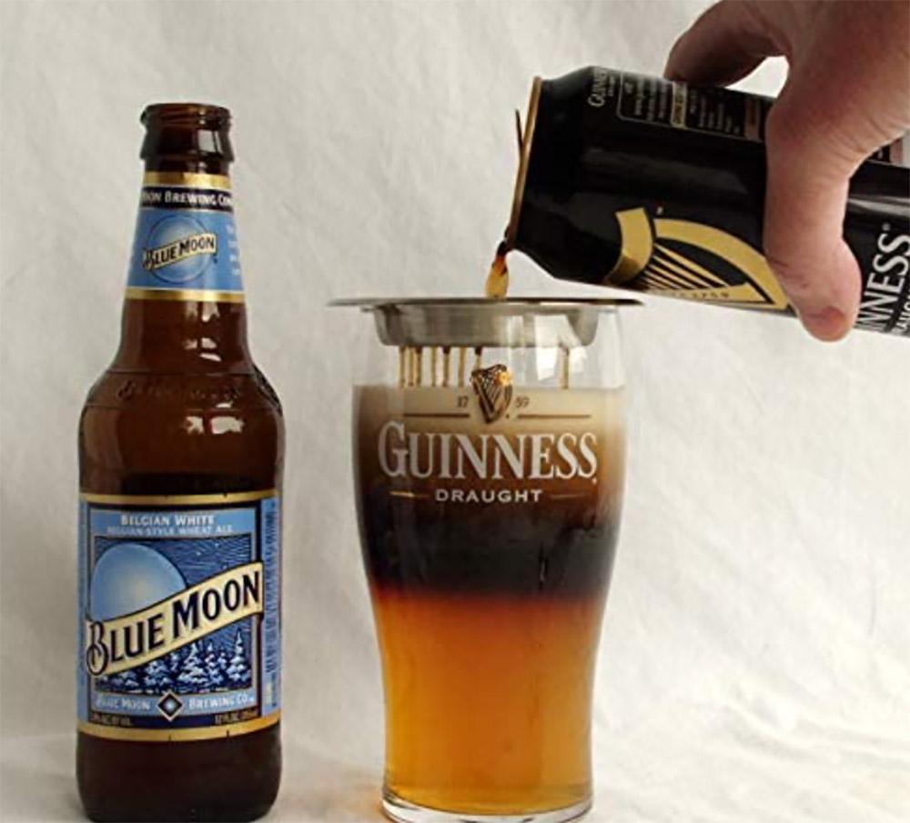 Инструмент для наслоения черного и коричневого пива