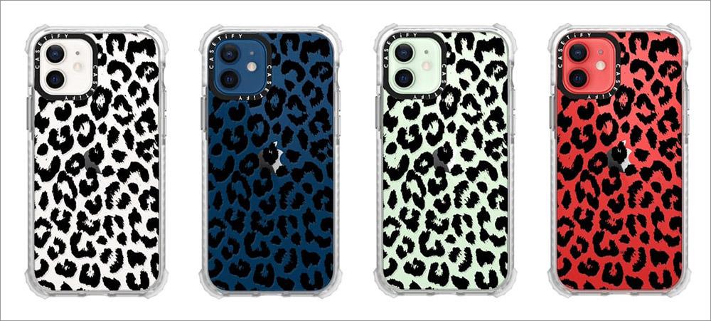 Черный прозрачный леопард