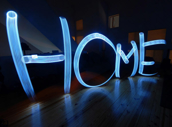 дом там, где свет