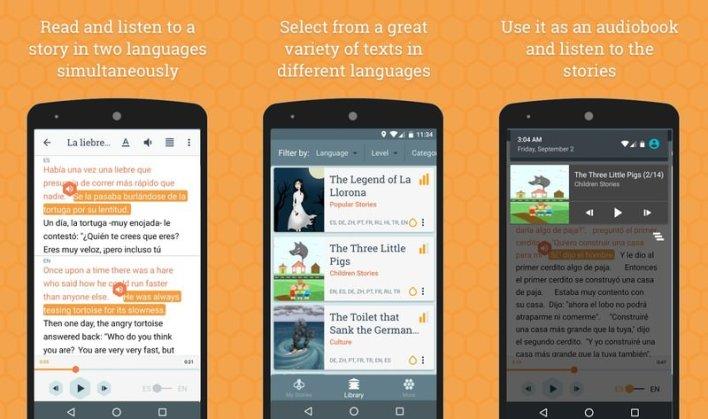 Beelinguapp أفضل 10 برامج تعلم اللغة الانجليزية المجانية وأفضل برامج تعلم اللغات