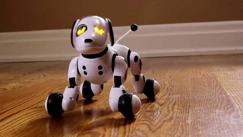 Интерактивный робот-собака Zoomer