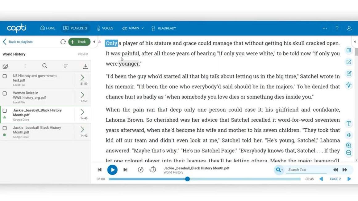 Capti предлагает решение для повышения производительности преобразования текста в речь