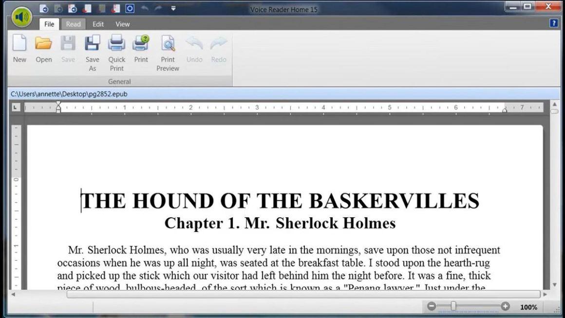 Linguatec Voice Reader - это инструмент для преобразования текста в речь