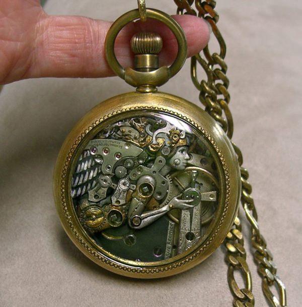 часы-скульптура