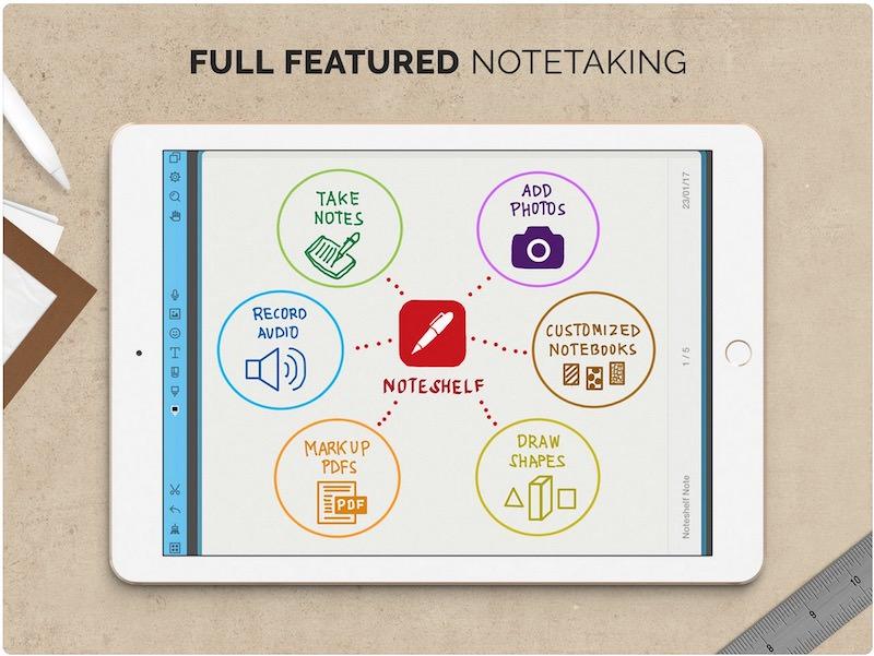 Noteshelf-ipad-app