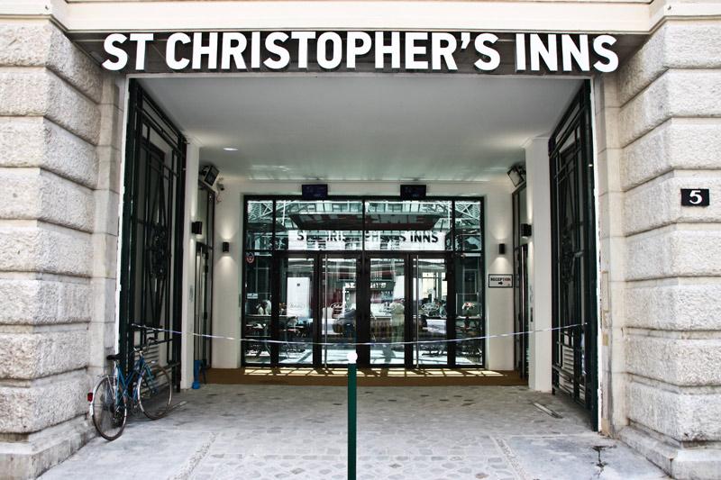 St Christophers Inn Gare Du Nord sur Htel  Paris