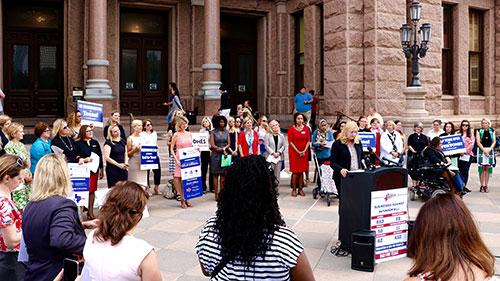 HRC Texas; Liz Baskin