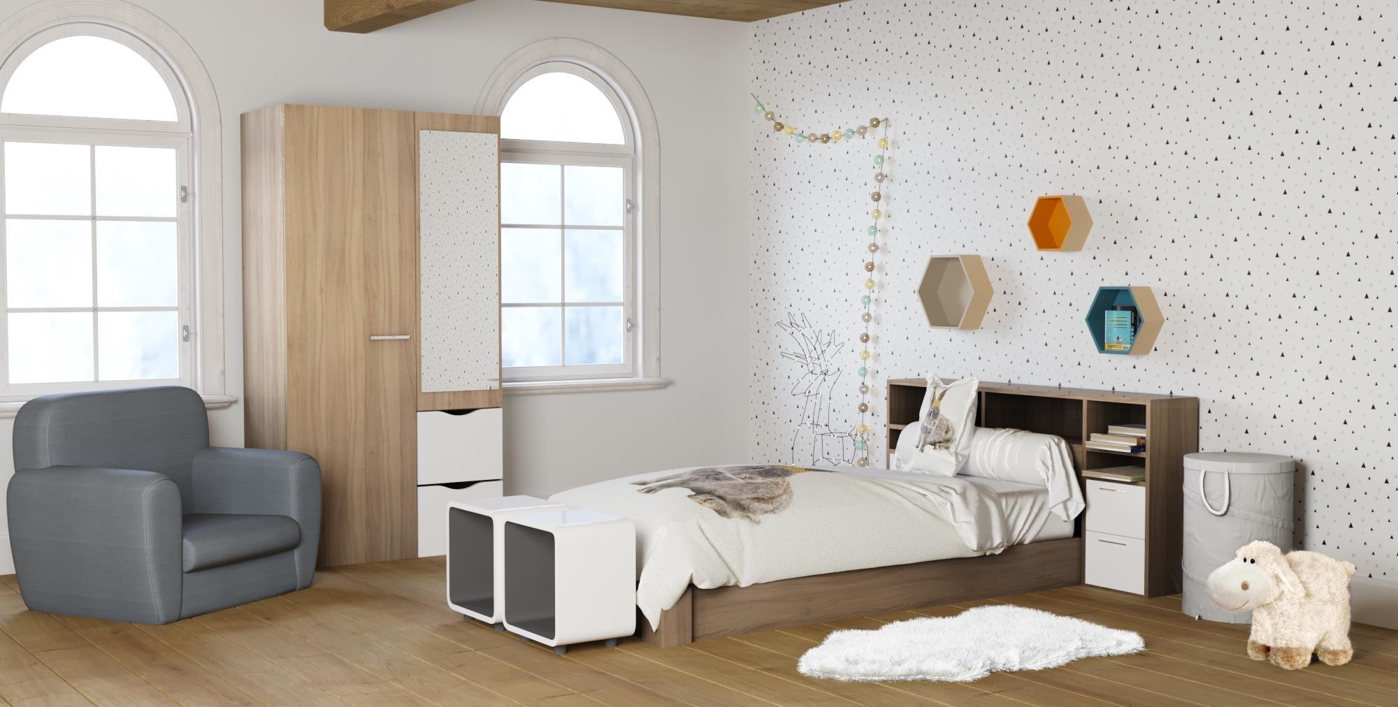 Chambre Scandinave Jaune | Chambre Scandinave Budget Déco Style ...