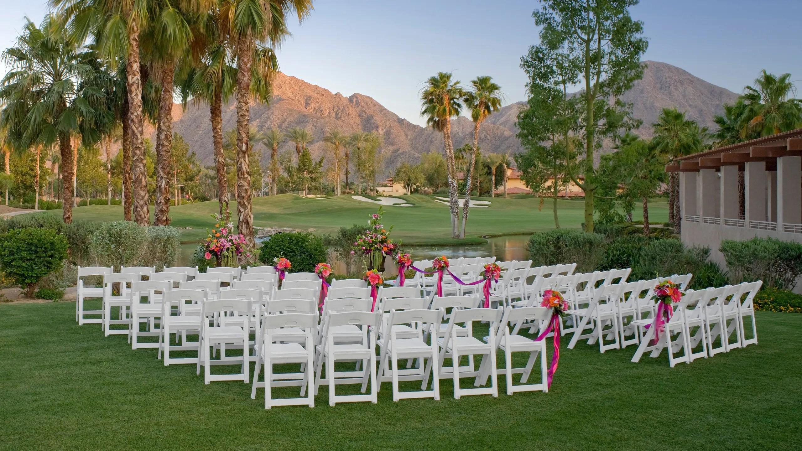 Palm Springs Desert Wedding Venues Hyatt Regency Indian