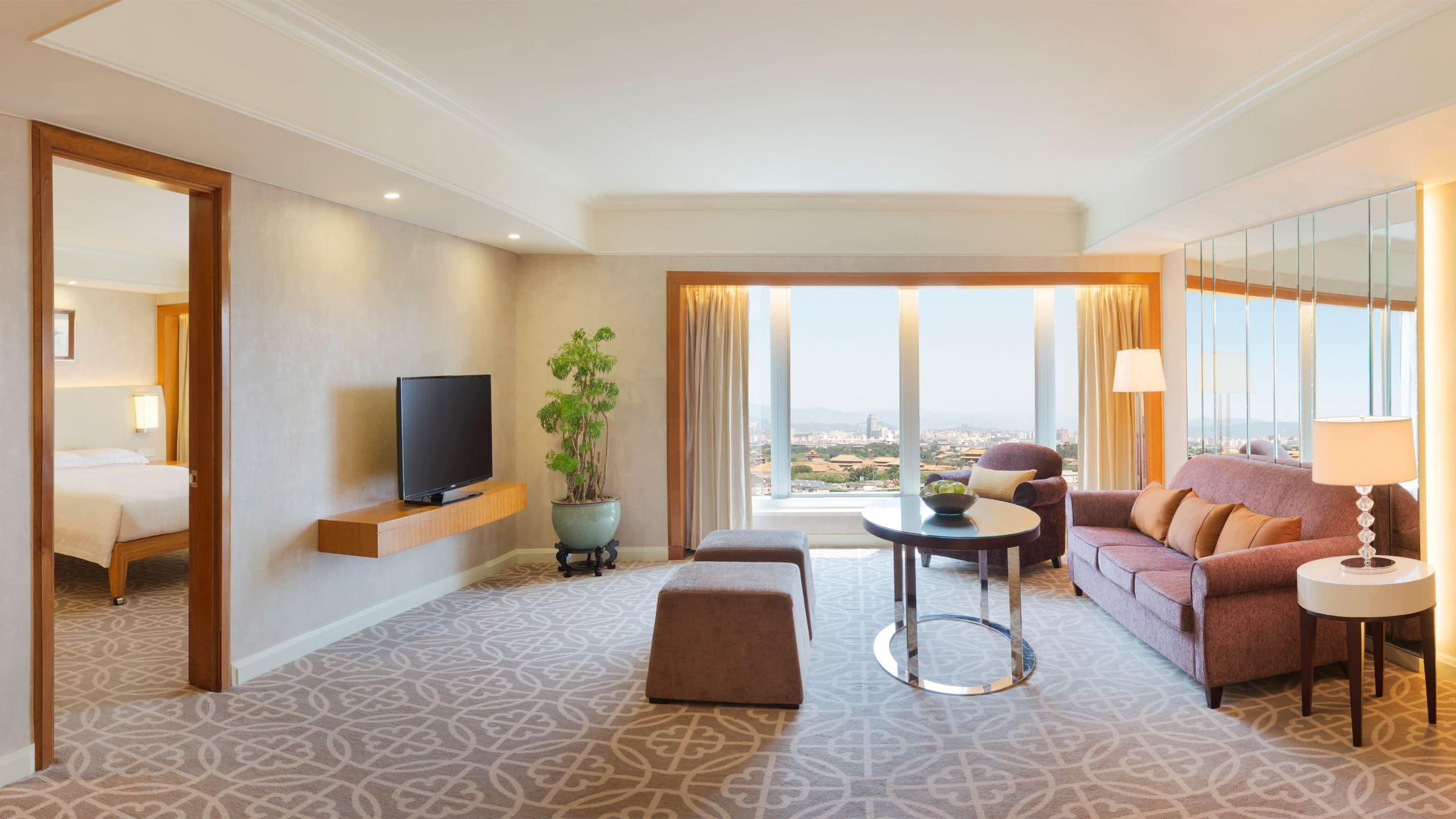 5 Star Downtown Hotel In Beijing Grand Hyatt