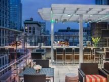 Eclectic Rooftop Bar Manhattan Hyatt Herald Square York