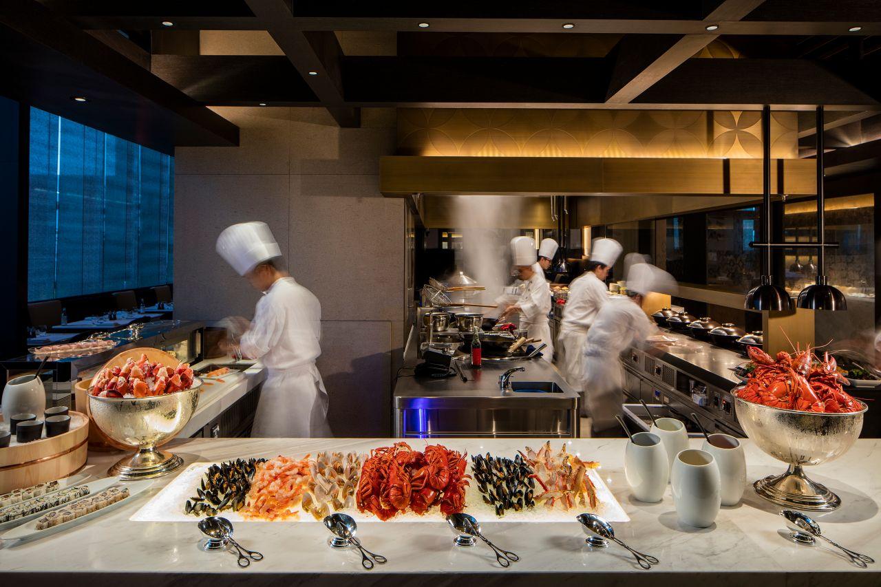 酒店特色餐廳及酒吧   香港酒店餐廳   香港君悅酒店