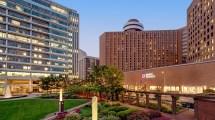Impressive Downtown Indianapolis Hotel Hyatt Regency