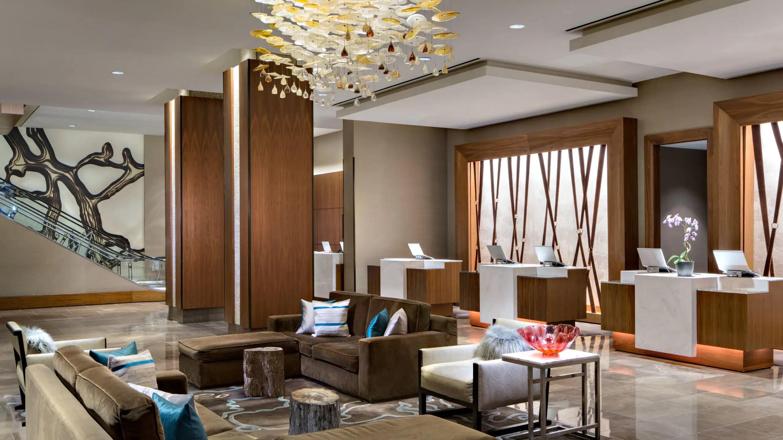 medium resolution of hotel lobby hyatt regency san antonio river walk