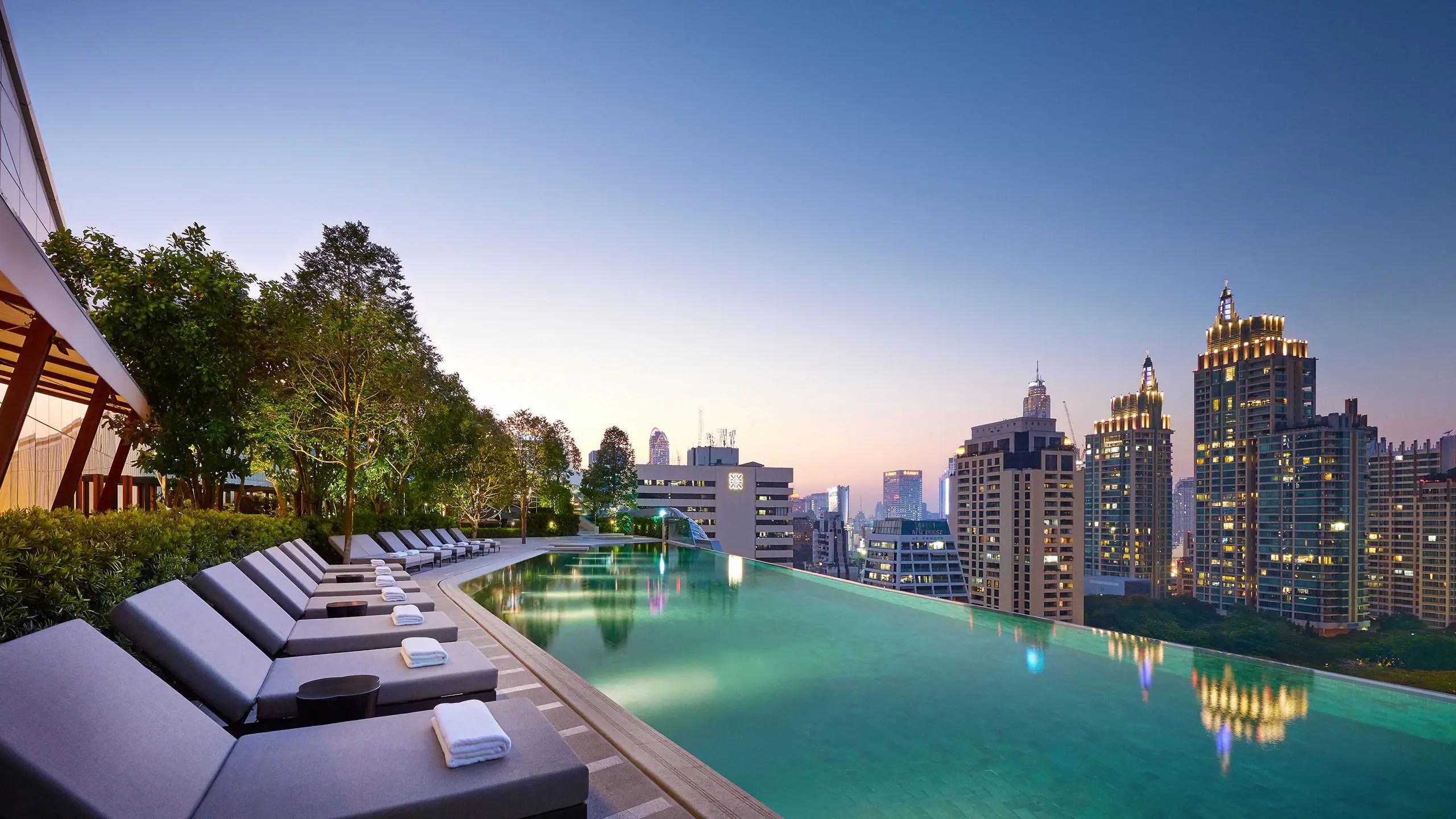 Luxury 5 Star Hotel In Bangkok Park Hyatt Bangkok