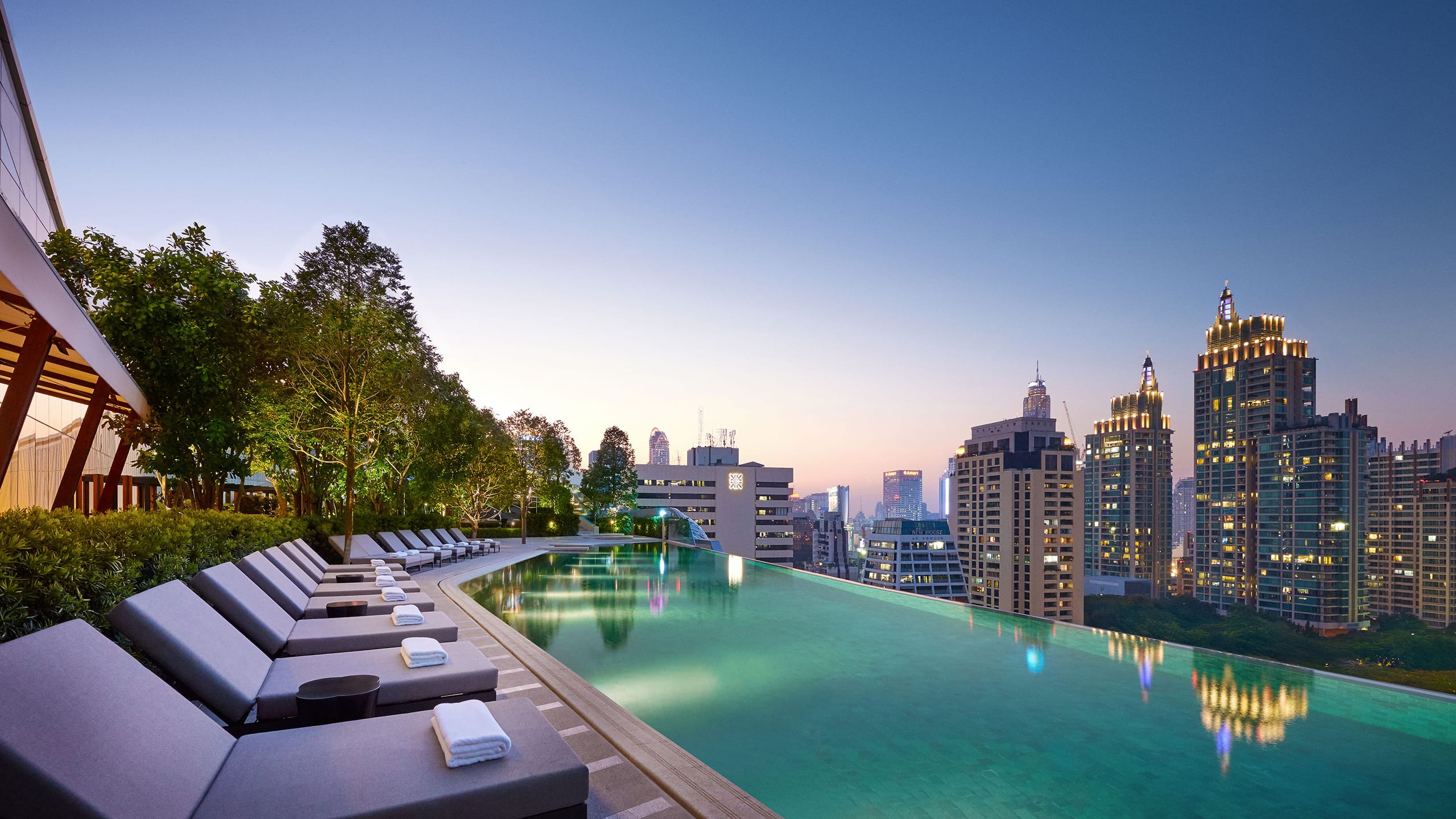 Luxury 5-star Hotel In Bangkok Park Hyatt